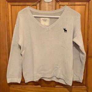 Knit Gray A&F Sweater
